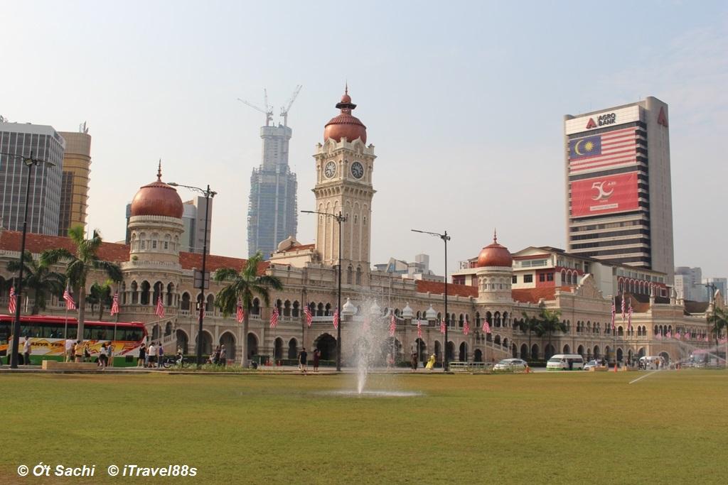 Tòa nhà Sutal Abul được xây bởi người Anh - Top 10 địa điểm nổi bật ở Kuala lumpur