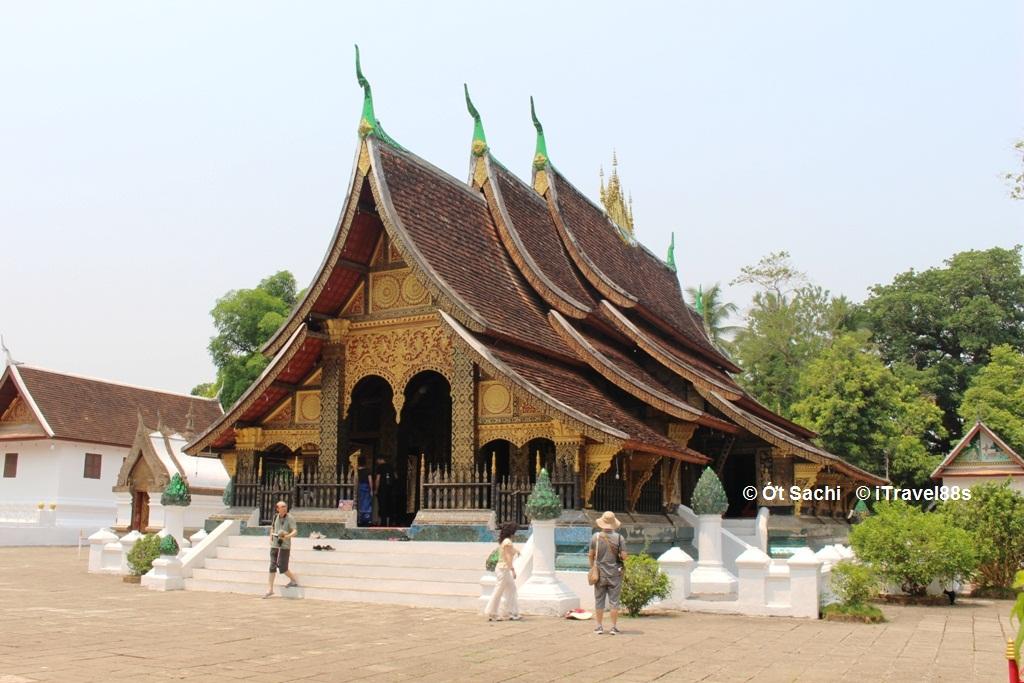 Chùa Wat Xieng Thong ở Luang Prabang