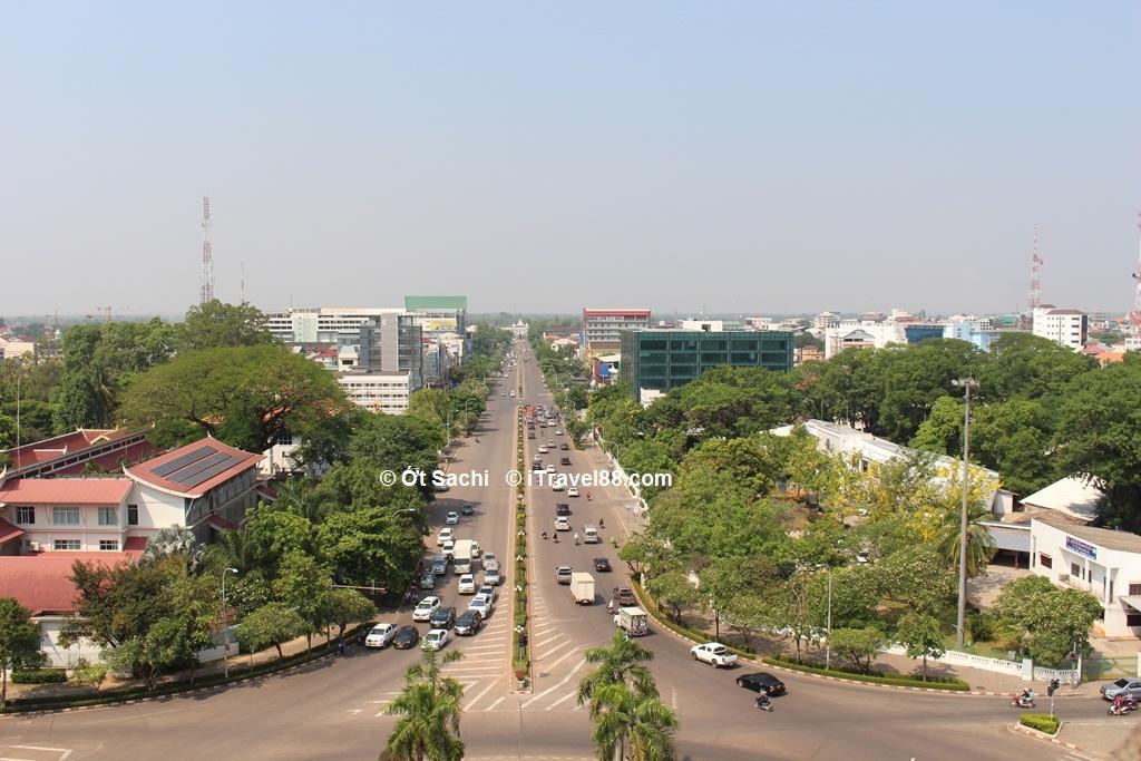 Đại lộ Ave Lane Xang, viêng chăn