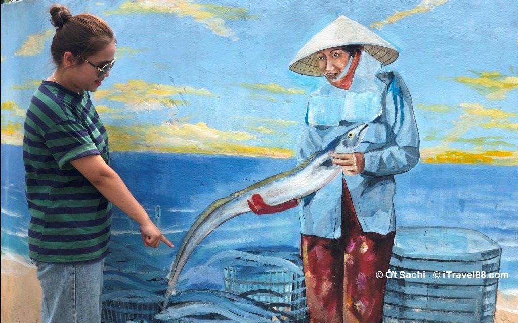 Làng bích họa Cảnh Dương - kinh nghiệm du lịch tự túc Quảng Bình 3N2Đ