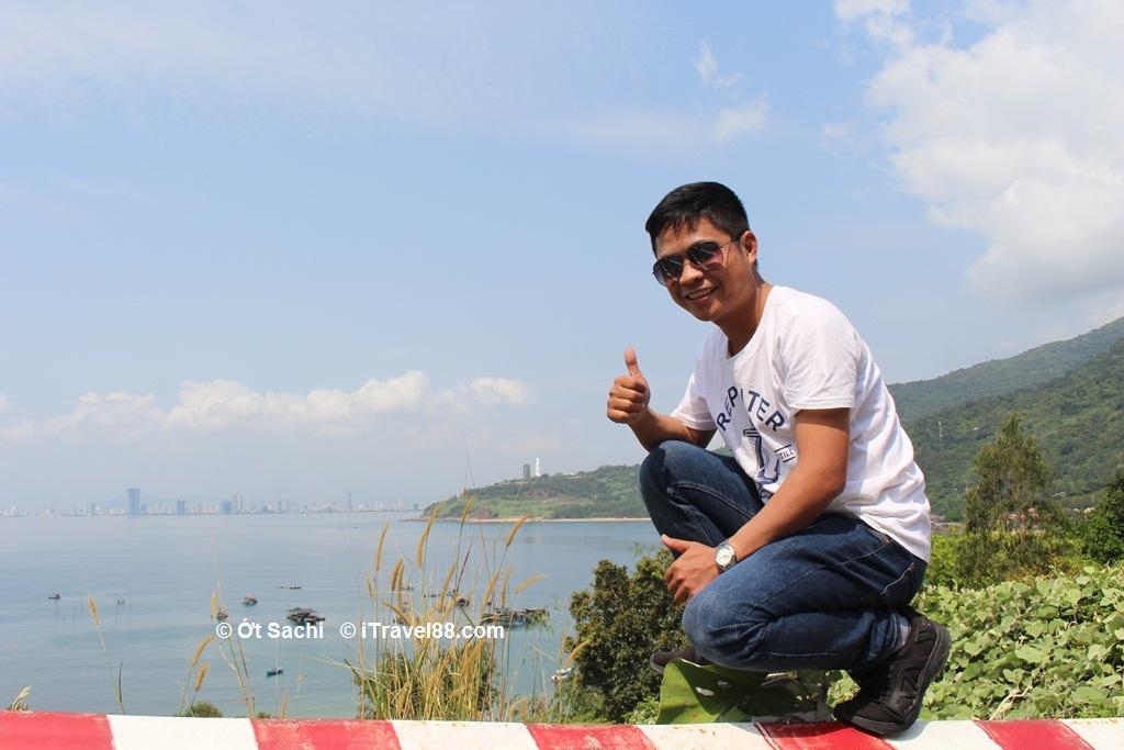 Da Nang city view from Son Tra peninsula