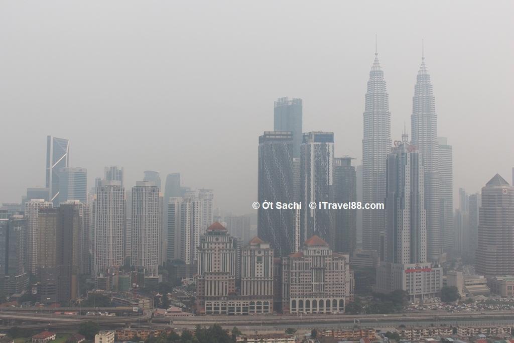 Tháng 9 là thời điểm không nên đi Kuala lumpur vì không khí bị ô nhiễm
