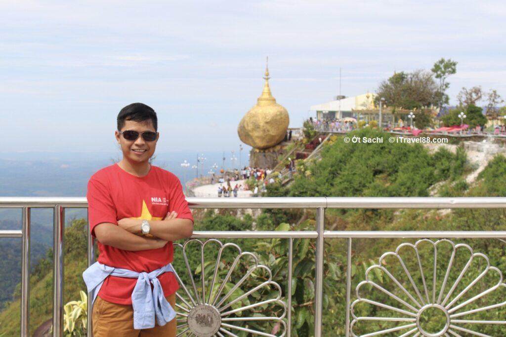 Vẻ đẹp chùa vàng Kyaikhtiyo, golden rock - địa điểm hành hương quan trọng ở Myanamar