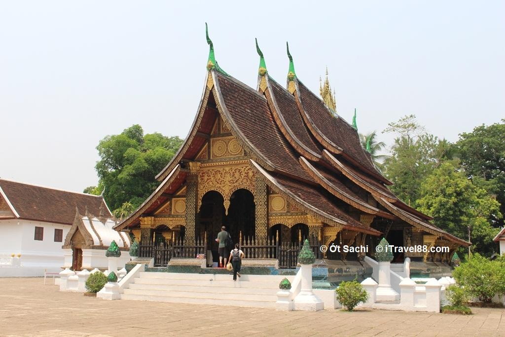 Luang Prabang được UNESCO công nhận là di sản văn hóa năm 1995