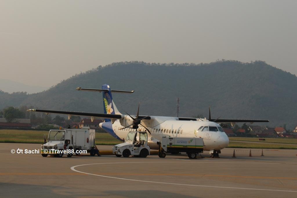 đường bay từ Hà Nội đi Luang Prabang - Kinh nghiệm du lịch Luang Prabang tự túc từ A-Z