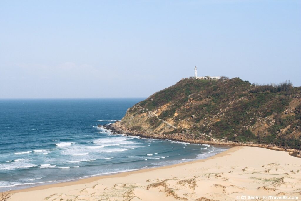 Mon beach's view from Deo Ca pass, one of best attractions in Phu Yen