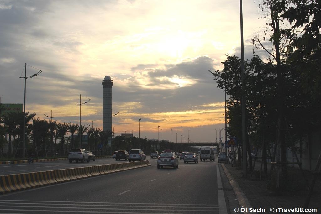 Đài kiểm soát không lưu ở Nội Bài