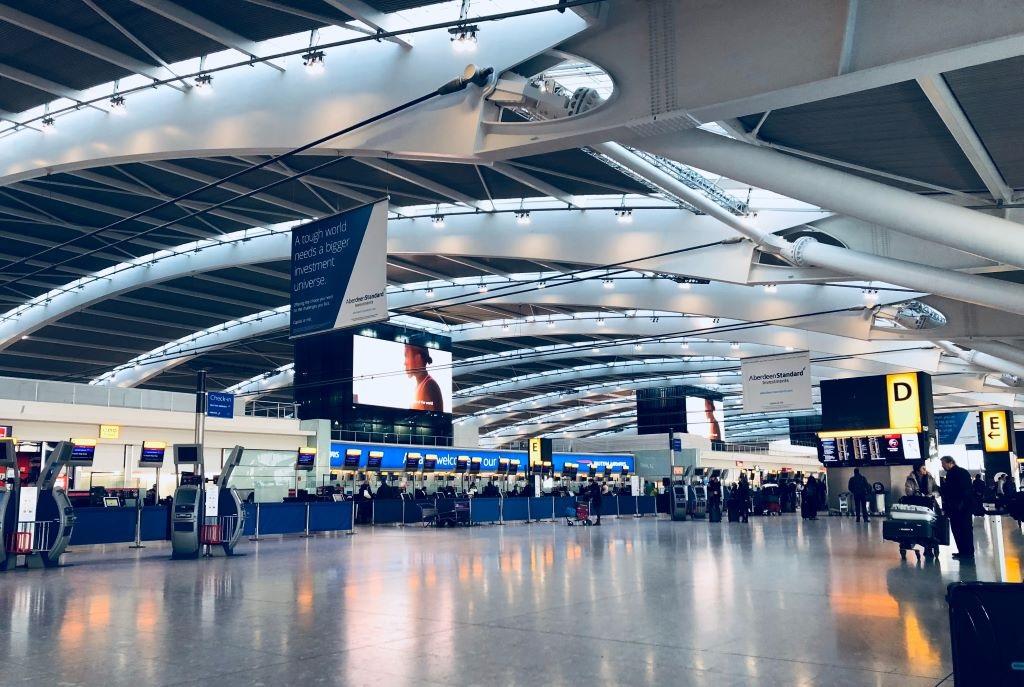 quầy ký gửi hành lý sân bay